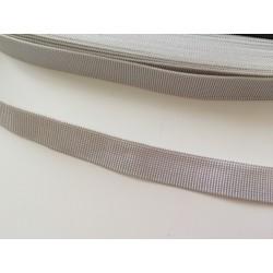 Ruban elastique blanc de 15 mm