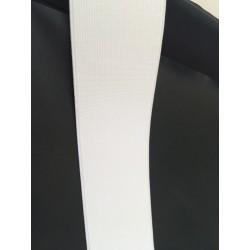 Ruban elastique blanc 6 cm