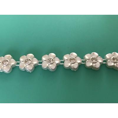 Ruban de perle avec strass