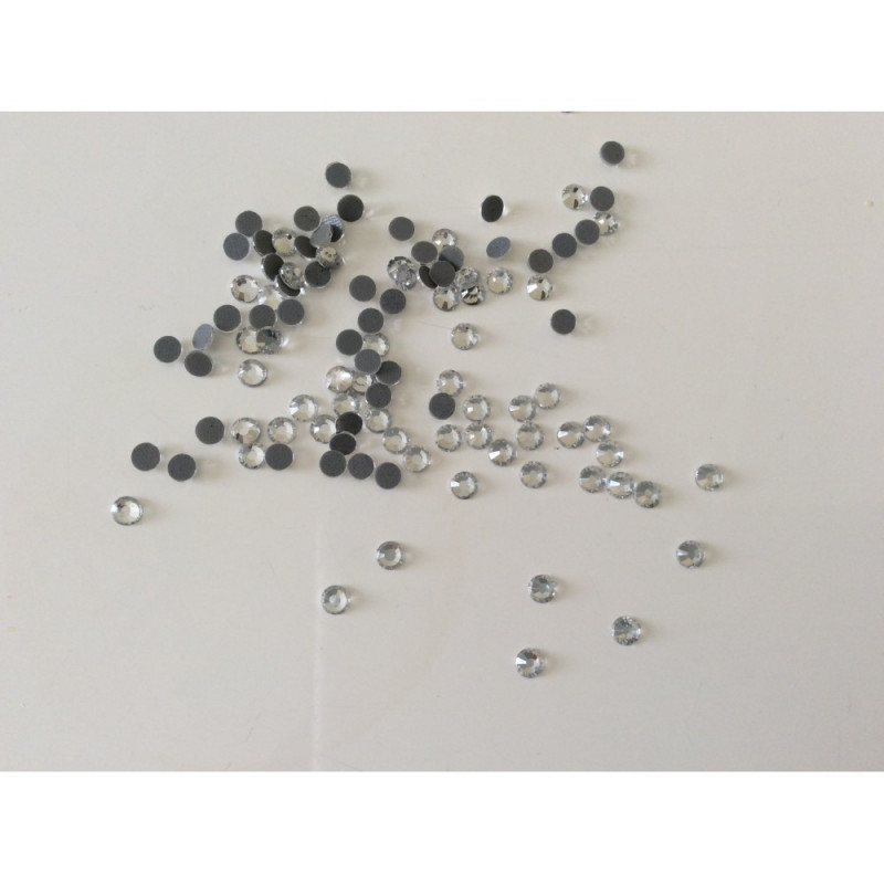 Strass argenté 4 mm