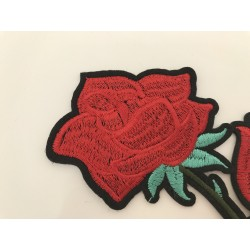 Broderie thermocollant au repassage