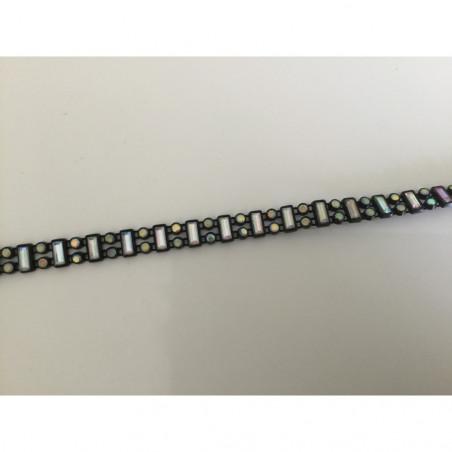 Ruban acrylique noir