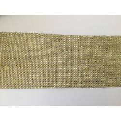 Ruban de strass acrylique 12 cm largeur