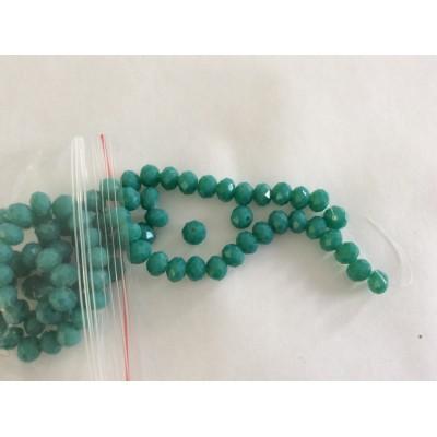 Perle en cristal à facette