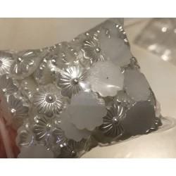 Demi perle blanche 13 mm