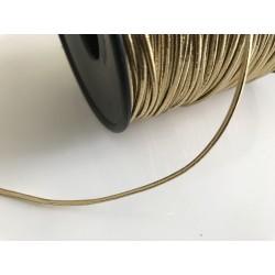 Bobine cordon élastique en 3 mm de 100 metre