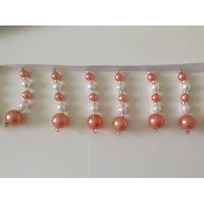Frange en perle