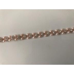 Ruban de perle et strass