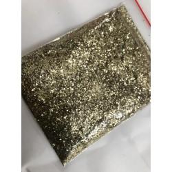 Paillette doré en poudre