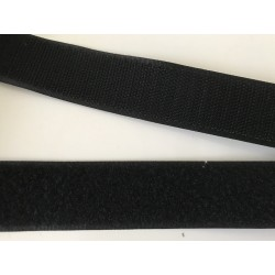 Velcro noir de 3 cm