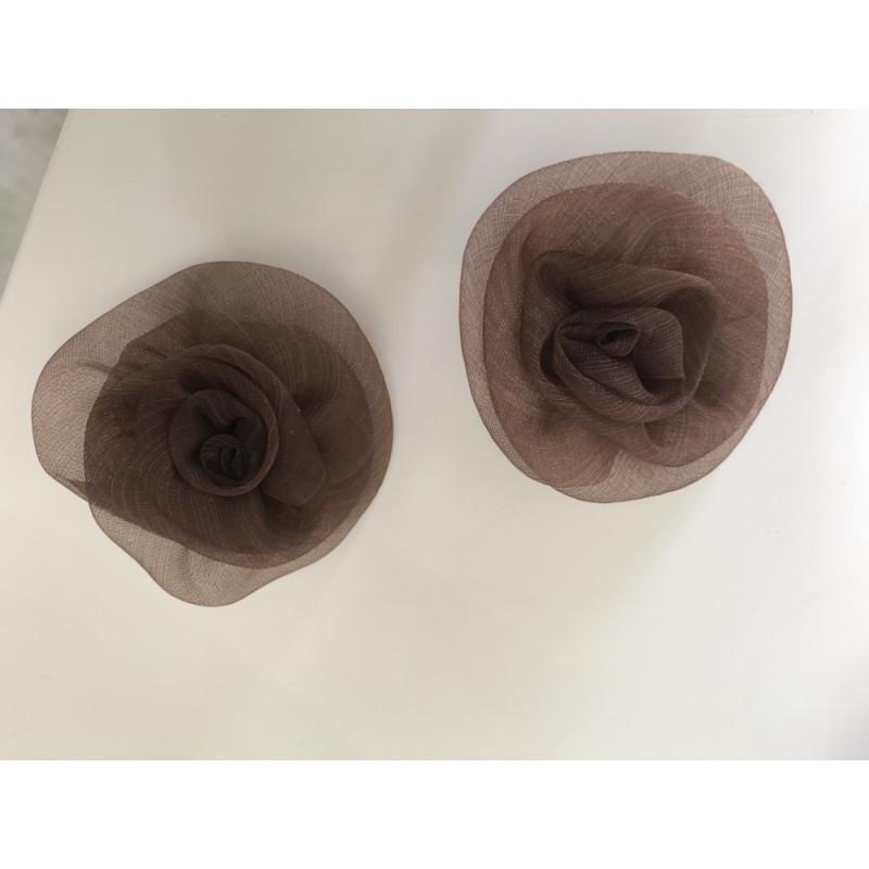 Fleur marron