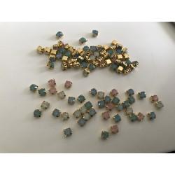 Strass en cristal 6 mm