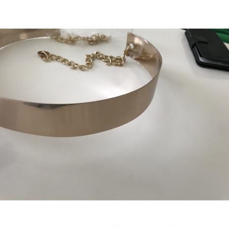 Ceinture metal doré