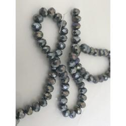 Perle en cristal à facette 6 mm