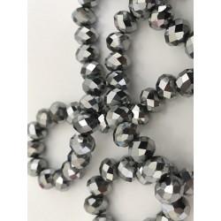 Perle en cristal à facette 8 mm
