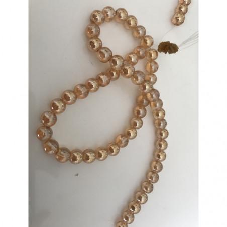 Perle en verre 8 mm