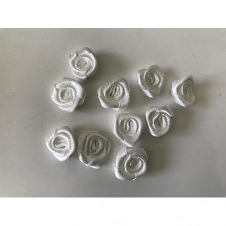 Rose en satin