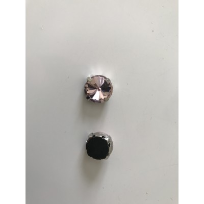 Strass sertie 12 mm