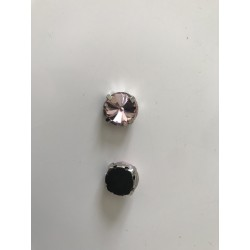 Strass sertie 12 mm