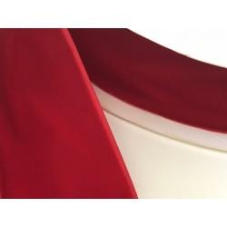 Ruban velour rouge 4 cm