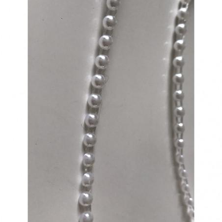 Ruban de demi perle 4 mm