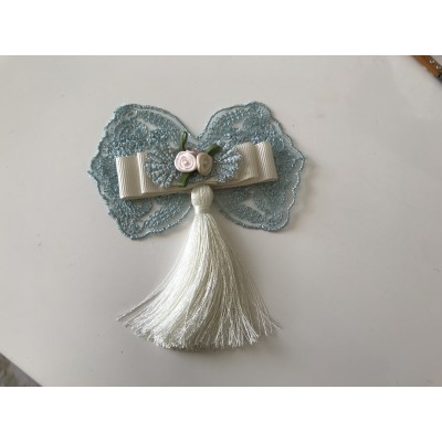 Noeud de papillon bleu