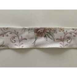 Ruban imitation lin Largeur 4 cm