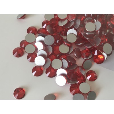 Strass rouge 6 mm