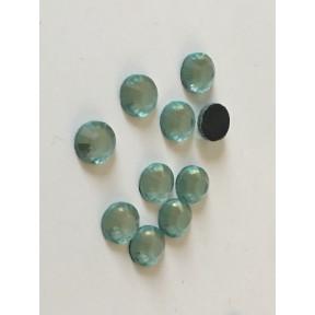Strass en cristal de 10 mm thermocollant