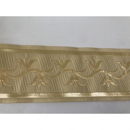 Galon medievale 7 cm beige