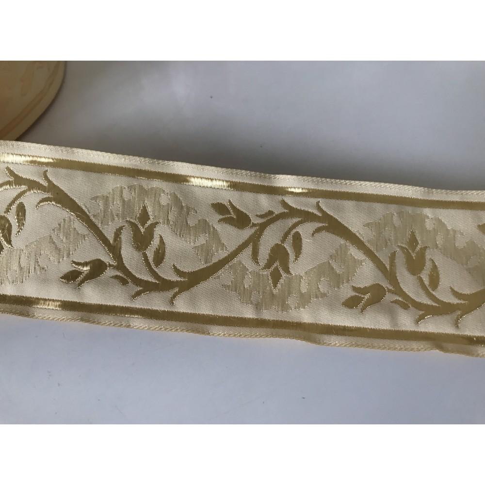 Galon medieval beige 5 cm
