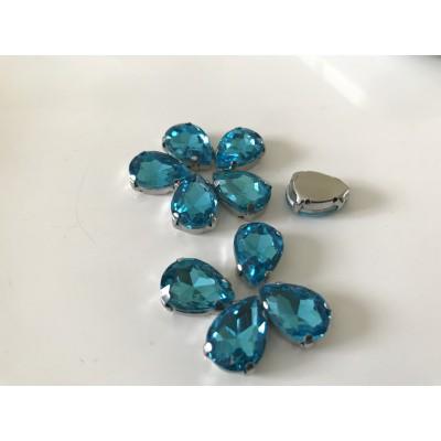 Strass en cristal amande 7*10 mm