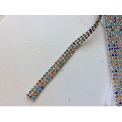 Ruban de strass en cristalF