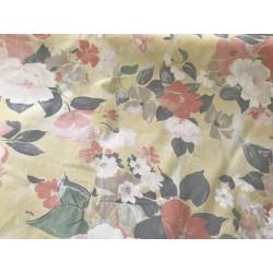 Tissus fleurie en coton