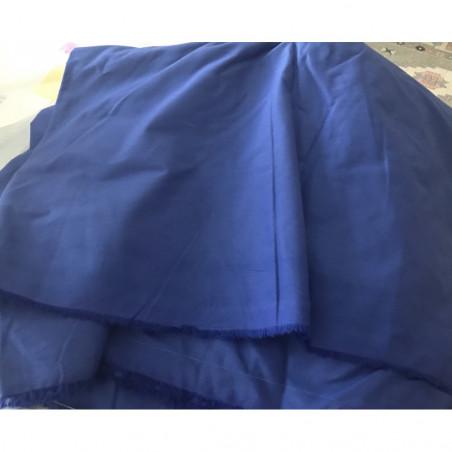 Tissus bleu coton
