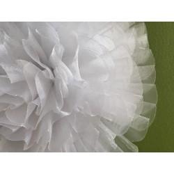 Fleur organza de 14 cm en...