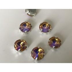 Strass en cristal ronde 10 mm