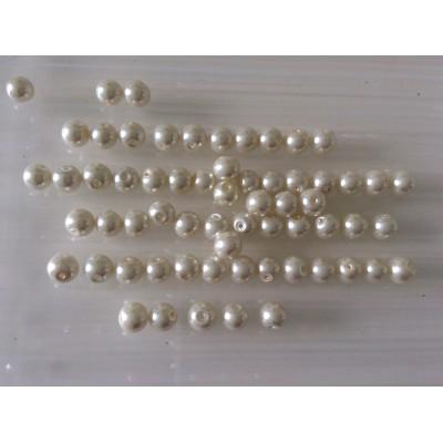 Perle ecru 8mm