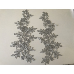 copy of Applique gris dentelle