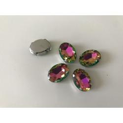 Strass cristal forme ovale