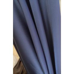 Tissus crepe de satin bleu...
