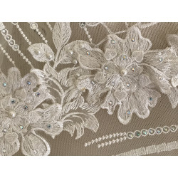Dentelle robe de mariée 3d...