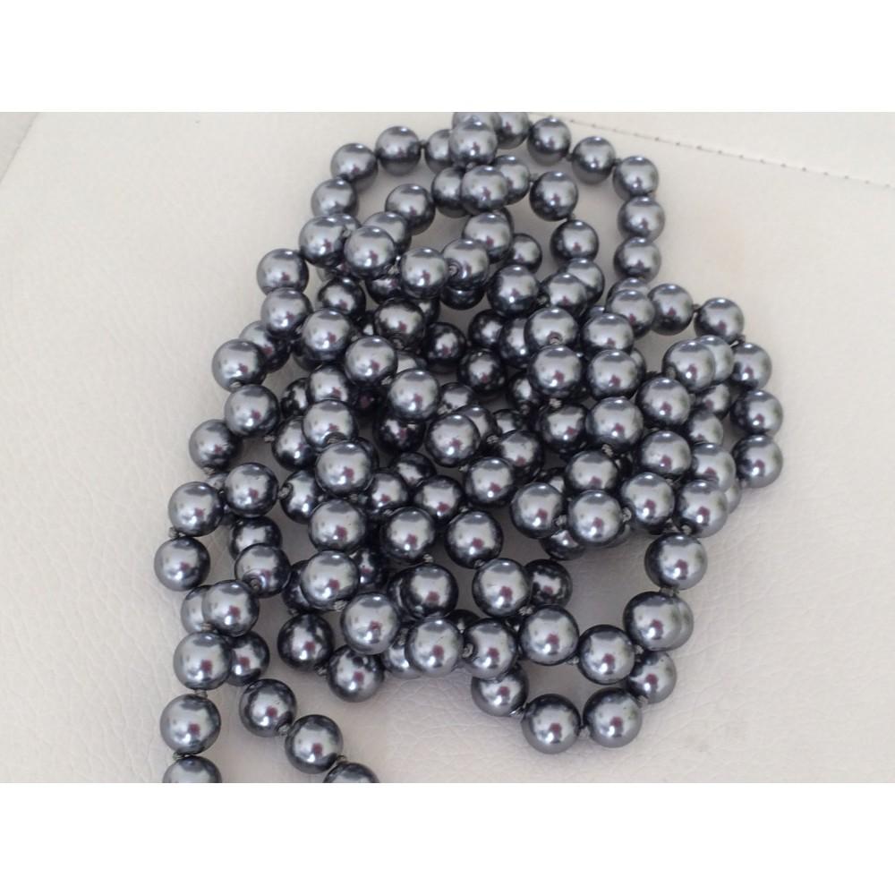 Lot de perle en verre de 8 mm