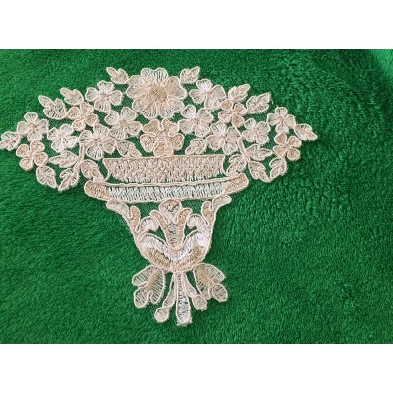 Bouquet de fleur dentelle